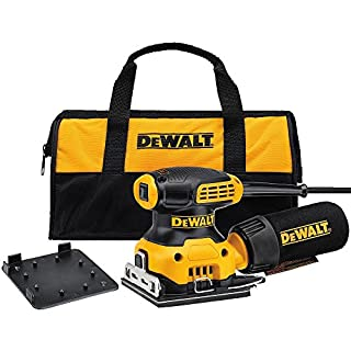 DEWALT DWE6411K 1/4 Sheet Palm Grip Sander Kit (B00ZWJDN5S) | Amazon price tracker / tracking, Amazon price history charts, Amazon price watches, Amazon price drop alerts