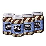 AZELA - Crema untable dúo de cacao y avellana (4 unidades de 1 kg)