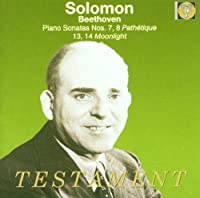 Solomon Plays Beethoven Pn Son Nos. 7, 8 Pathetique 13, 14 Moonlight
