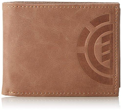 Element Herren Daily Elite Wallet, Brown, U