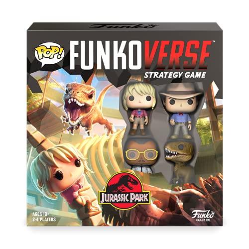 FUNKO POP! FUNKOVERSE: Jurassic Park 100 - Strategy Game