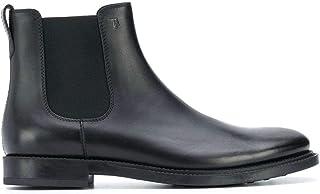 Tod's Mode De Luxe Homme XXM62C00P20OLWB999 Noir Cuir Bottines | Automne-Hiver 20