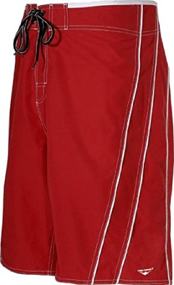 The Finals Guard Male Boardshorts (33) Red