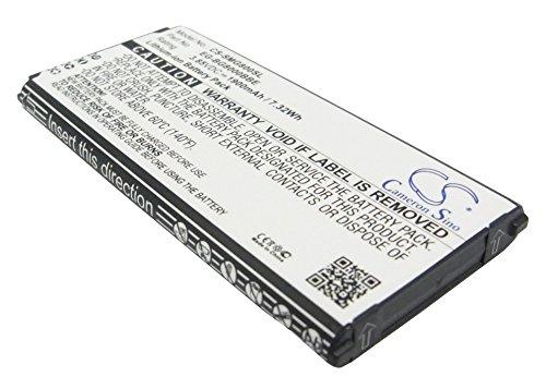 CS-SMG800SL Batteria 1900mAh compatibile con [SAMSUNG] Galaxy S5 Dx, Galaxy S5 Mini, SM-G800, SM-G800F, SM-G800H, SM-G800R4, SM-G800Y sostituisce EB-BG800BBE, per EB-BG800CBE, per EG-BG800BBE