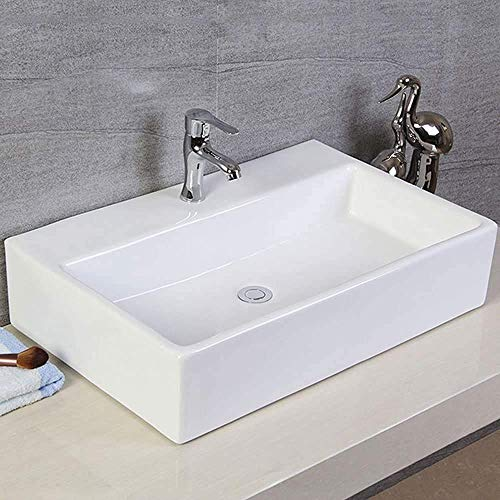 おしゃれ 洗面ボール 洗面ボウルセット 手洗い鉢 洗面台 洗面鉢 手洗い器 洗面器 洗面所 トイレ 大型洗面ボウル (方形1)