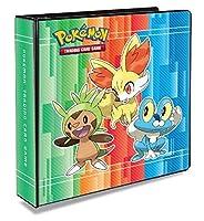 Ultra Pro Pokemon XY 3 ring Binder *Froakie,Chespin,Fennekin Binder*