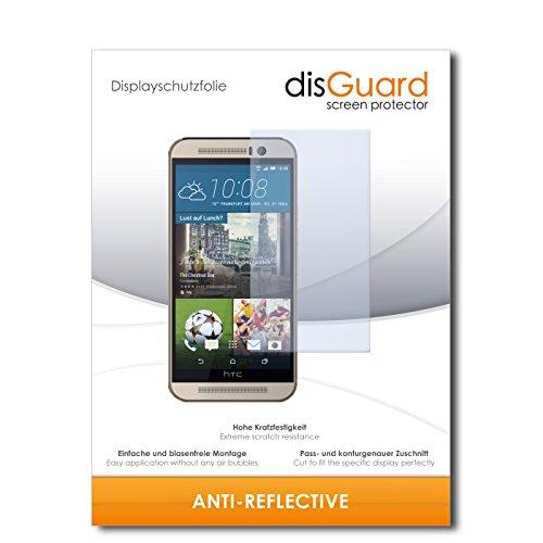 disGuard® Bildschirmschutzfolie [Anti-Reflex] kompatibel mit HTC One M9s [4 Stück] Entspiegelnd, Matt, Antireflektierend, Extrem Kratzfest, Anti-Fingerabdruck - Panzerglas Folie, Schutzfolie