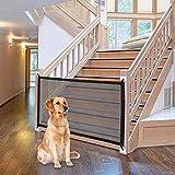 Hundebarrieren Tragbar Zaun für Hunde, 110*72cm Treppenschutzgitter Türgitter Absperrgitter...