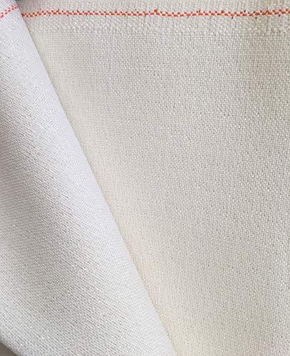 """Zweigart 36ct Edinburgh Linen-18x27"""" Needlework Fabric - Opalescent White"""