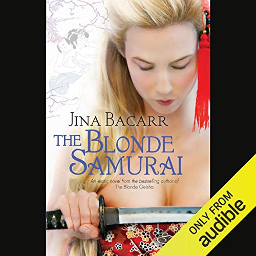 The Blonde Samurai audiobook cover art