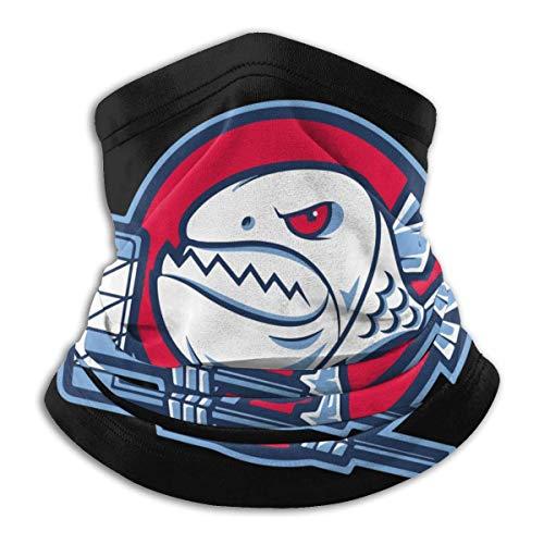 ShiHaiYunBai Tour de Cou Cagoule Microfibre Chapeaux Tube Masque Visage, Hockey Fish Fleece Neck Warmer - Reversible Neck Gaiter Tube, Versatility Ear Warmer Headband & For Men And Women