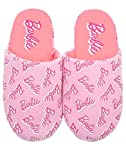 vanilla underground Barbie, ganz Bedruckt Logo Pink Polyester Damen Slippers (7 UK (fix))