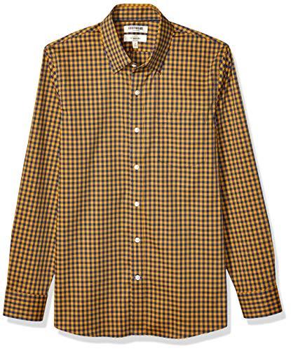 Marca Amazon - Goodthreads - Camisa cómoda de popelín elá