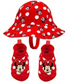Disney Minnie Mouse Red Sunny Fun Swim Hat and Booties Set - 0-12 Months