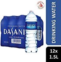 Dasani Drinking Water, 1.5L, (Pack of 12)
