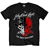 Rockoff Trade Men's Jekyll & Hyde T-shirt, Black, X-large
