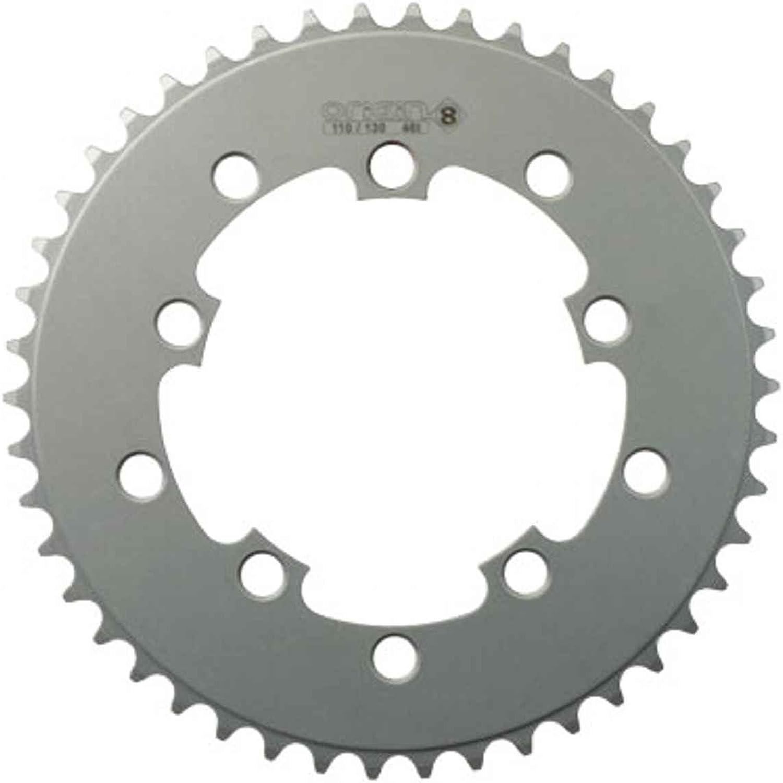 (46t, 110 130 BCD, 3 32, Silver) - Origin8 BMX   Singlespeed   Fixie Chainrings