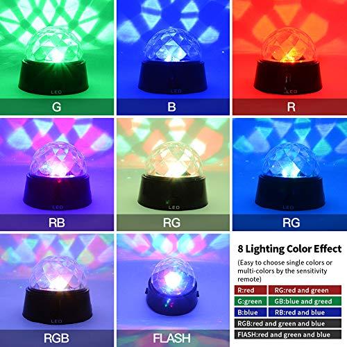 DXP RGB LED Discokugel Partylicht - 2