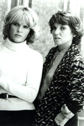 Cagney And Lacey Poster Bw #01B 11x17 Master Print