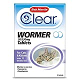 <span class='highlight'>Bob</span> <span class='highlight'>Mart<span class='highlight'>in</span></span> Clear Wormer Tablets for Cats <span class='highlight'>and</span> Kittens, Pack of 2
