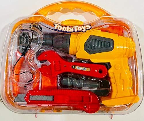 itn Maletín de herramientas Tools Toys con taladro funcional