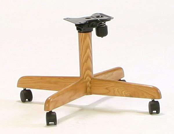 适用于旋转倾斜脚轮椅子的 chrocraft 兼容替换椅子底座一套 2 个