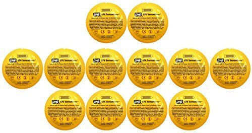 ONE 576 Sensations Studded Lubricated Latex Condoms Bulk - 100 Latex Condoms by Unknown