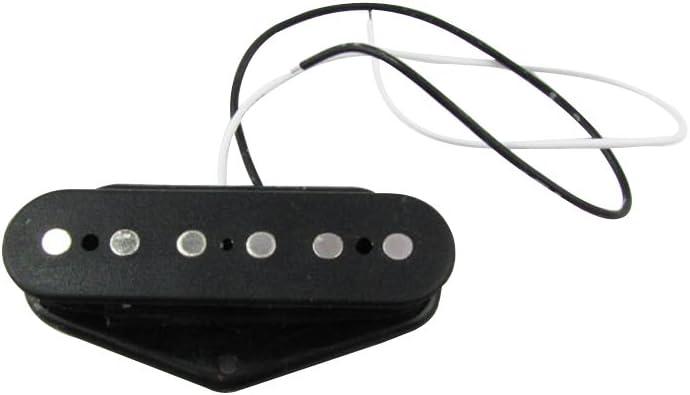 Musiclily Set de 50mm Bobina Simple Pastilla del Mástil y 52mm Pastilla del Puente para Guitarra Telecaster