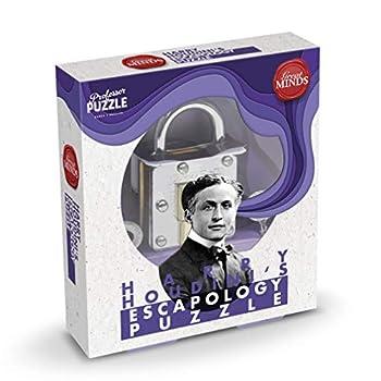 Professor Puzzle Great Minds Houdini's Escapology Brain Teaser Puzzle 3D Metal Puzzles/Brain Teaser
