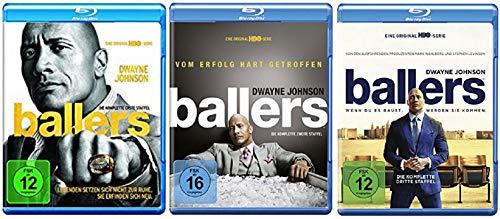 Ballers Staffel 1-3 (1+2+3, 1 bis 3) [Blu-ray Set]