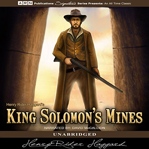 King Solomon's Mines                   By:                                                                                                                                 Henry Rider Haggard                               Narrated by:                                                                                                                                 David McCallion                      Length: 7 hrs and 25 mins     Not rated yet     Overall 0.0