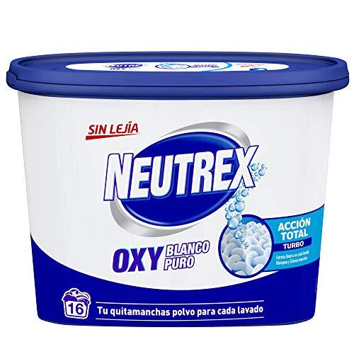 Neutrex Oxy Quitamanchas Polvo Sin Lejía para la ropa de Color - 512g + 10%