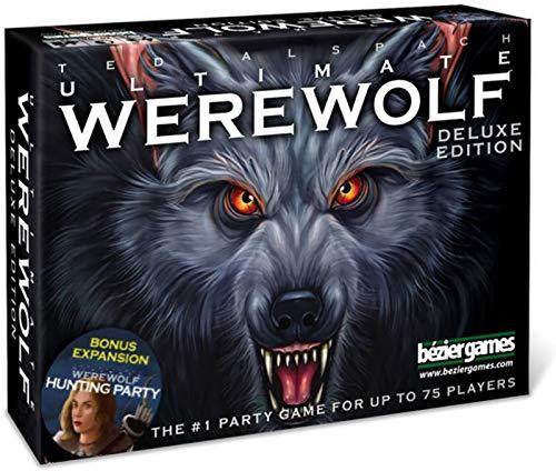 Completo Inglés Deluxe Edition One Night Ultimate Weswolf Expansion Pack - Juegos De Mesa De Cartas Juego De Fiesta Divertido para Adultos Estudiante Adolescente Niño