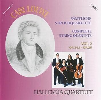 Loewe: Complete String Quartets, Vol. 2