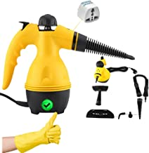 Draxon Steam Cleaner 1000WATT Portable Handled High Pressure Machine For House/Car/InDoor, OutDoor, Sanitizer Use With Mul...