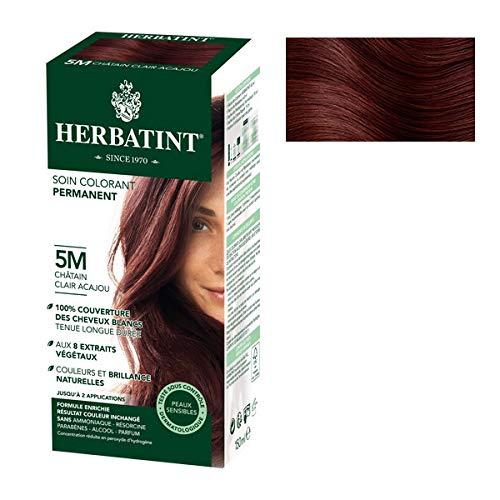 Herbatint - Coloration Naturelle 5M Chatain Clair Acajou 150Ml - Lot De 3 - Vendu Par Lot