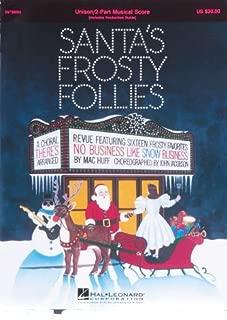 Hal Leonard Santa's Frosty Follies Choral Revue
