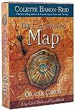 YQRX Enchanted Map Oracle Tarjeta, Tarot Tarjeta y Libro de introducción Conjunto 44 Piezas/Set, Adecuado para reuniones con Familiares y Amigos (Bolsas, manteles)