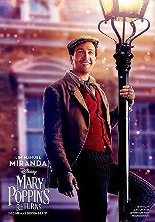 MARY POPPINS RETURNS DISNEY MOVIE POSTER FILM A4 A3 ART PRINT CINEMA