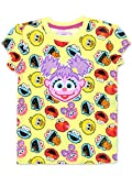 Sesame Street Abby Cadabby Toddler Baby Girls Short Sleeve Tee (24 Months, Yellow/Multi)
