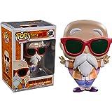 Funko - Dragon Ball Z-Master Roshi Exclusive (Peace Sign) Figurina, Multicolor, 32499...