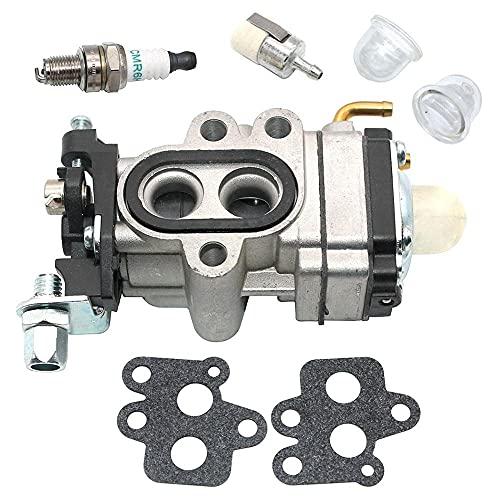 HaoYueDa Carburador para John Deere BP40 BP40LE BP45LE BP50 BP50LE BP60 BP65LE Ventilador de Mochila Tipo A