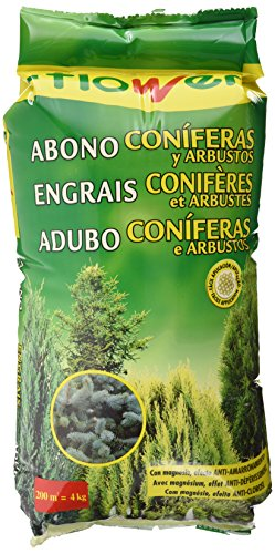 Flower ABONO CONIFERAS Y ARBUSTOS 4KG, Único