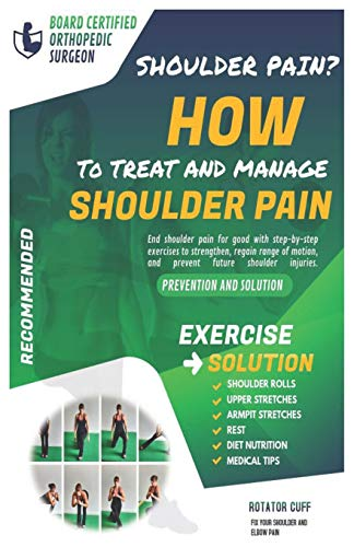 How to treat and manage shoulder pain: The Solution & Prevention with Recommended Exercises
