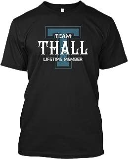 Team thall Lifetime Member XLT - Black Tshirt - Hanes Tagless Tee