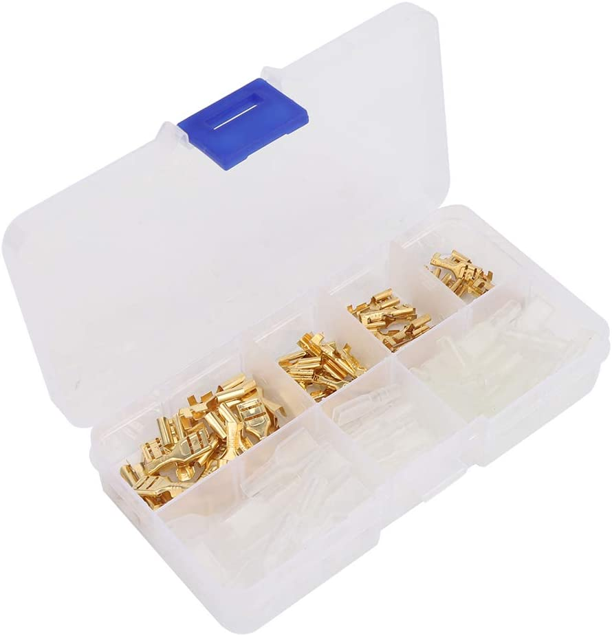 Wire Connector Terminal Kit Max 45% OFF Strong with Ins Conductivity Stable Superlatite