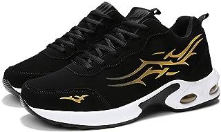 SJNX-Running Shoes Scarpe da Marea Fluorescenti Notturne Scarpe Sportive da Uomo Autunnali E Invernali con Cuscino d'Aria ...