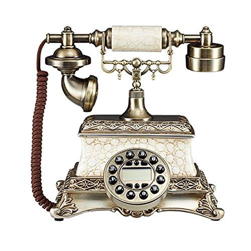 motes uvar el teléfono _ Europea Mode Retro–Teléfono Teléfono Teléfono llamada entrante Después de Antiguo