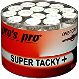 60 Overgrip Super Tacky Tape blanco tennis grips Cinta para mango de...