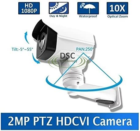 DiySecurityCameraWorld-2MP CMOS Under blast sales HD-CVI Mini PTZ Camera Now on sale 10 Bullet